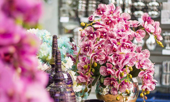 comprar flores artificiais