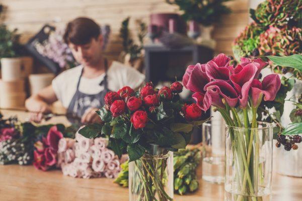 lindos arranjos florais