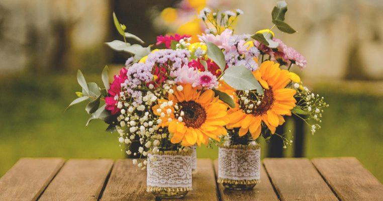 comprar arranjo de flores artificiais