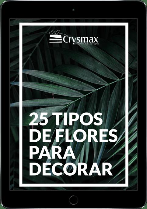 ebook 25 tipos de flores para decorar