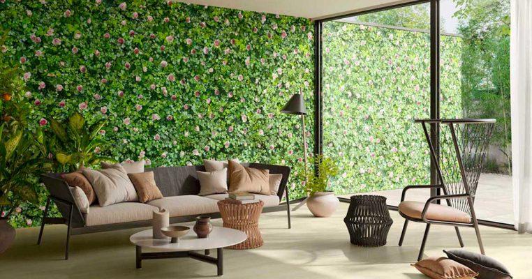 Plantas artificiais para parede - Crysmax