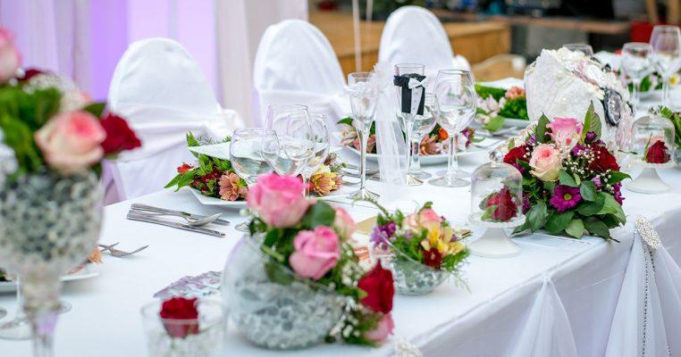 Arranjos de flores artificiais para casamento - Crysmax