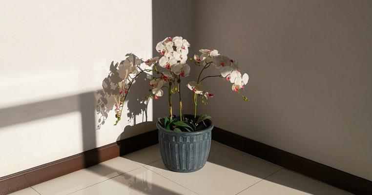 Arranjos de flores artificiais para chão - Crysmax