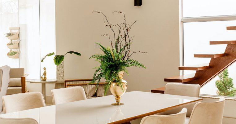 Vasos com plantas artificiais - Crysmax