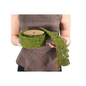 Rolo de Musgo Verde 2,00m Artificial para Decoração