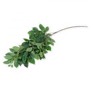 Haste Folha Primavera 108cm Artificial Verde para Decoração