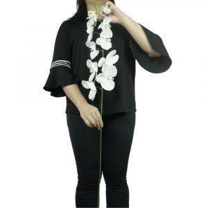 Haste de Orquídea Artificial 100 cm p/ Arranjo