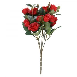 Buquê de Rosa 30cm Artificial p/ decoração