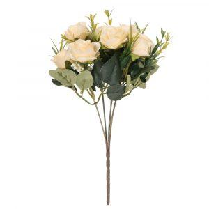 Buquê de Rosa 30cm Artificial para decoração