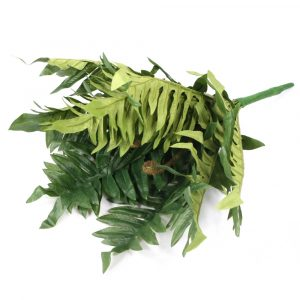 Buquê Samambaia 46cm Artificial Verde para Decoração