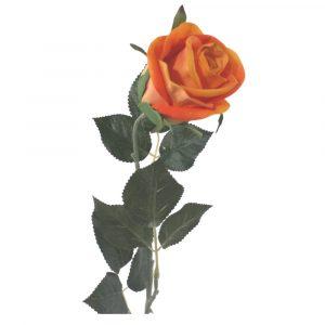 Haste Rosa Unitária 71cm Artificial para Arranjos