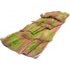Placa de Casca com Musgo 100cm Artificial p/ Decoração