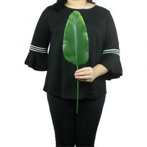 Haste Folha de Bananeira Verde Decorativa