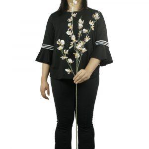 Haste de Orquídea Asiática Artificial Decoração