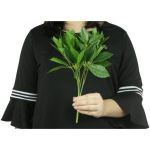 Planta de Folhas Verdes Artificial Decoração