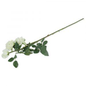 Haste de Rosa Artificial 71cm Decorativo