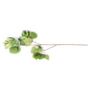 Haste de Folhas 90cm Artificial para Decoração