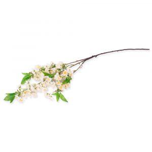 Haste Pessegueiro 105cm Artificial Branca p/ decoração