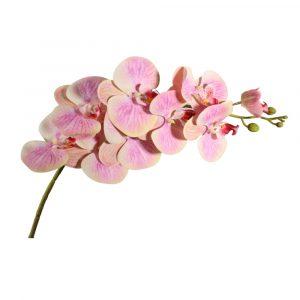 Haste de Orquídea Artificial 97cm para Decoração