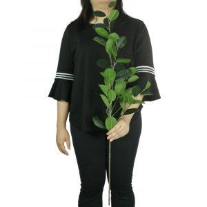 Haste de Folhas Ficus Artificial Decoração